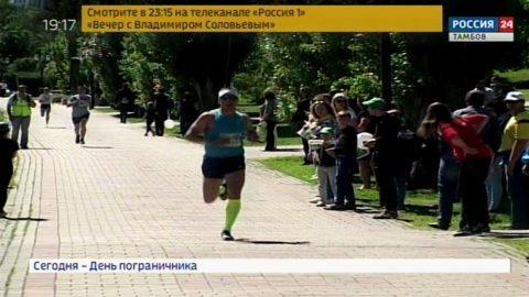 «Зеленый марафон» в Тамбове собрал сотни любителей бега